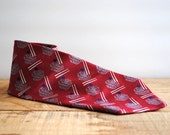 Vintage Necktie by Givenchy Monsieur 1960's or 1970's - Vintage Givenchy Tie Mens Fashion Father's Day