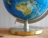 Vintage Globe - Vintage Rand McNally World Portrait Globe