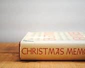 Vintage Christmas Cookbook - Christmas Memories with Recipes 1988