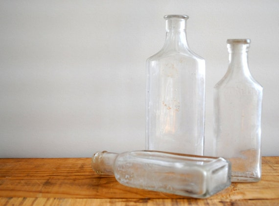 Vintage Apothecary Bottles - Instant Collection