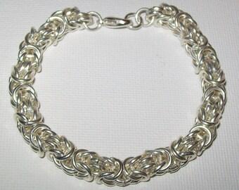 Customized Byzintine Chainmaille Bracelet