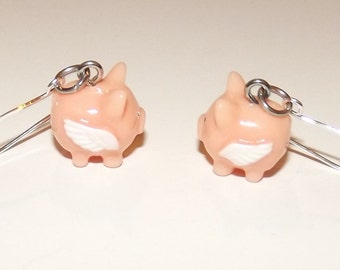 When Pigs Fly Necklace or Earrings