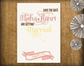 Chic Wedding Save the Date DIY Design (printable)