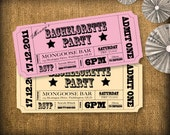 Bachelorette Party Invitations DIY Set (printable)