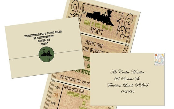 Seal And Send Wedding Invitations Diy: Unavailable Listing On Etsy
