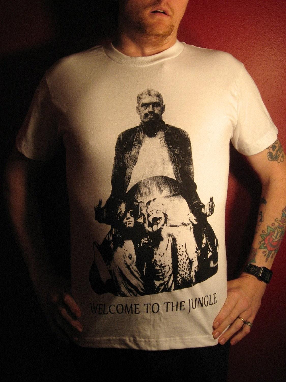 New Item Gg Allin Guns N Roses Fan T Shirt