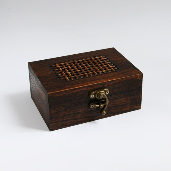 SALE 25% OFF -- Wooden Box with Buckle