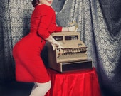 EmilieGray pinup 3/4 sleeved wiggle dress