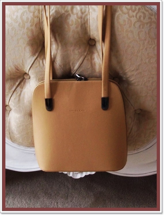 Marvellous Vintage Louisa Dal Ponte Leather Shoulder Bag