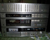 Solid Sounding Vintage 1980's Technics Stereo System - 4 Pieces