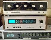Excellent Vintage 1970's Lafayette LA-950a Amp & LT 825 Tuner Stereo Set - Jerseyshorepickins