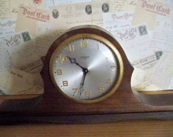 Vintage Gilbert 8 Day Windup Mantle/Shelf Clock