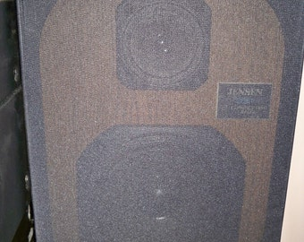 Vintage Jensen 2651 2 Way Bookshelf Speakers - Made in the USA