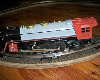 Vintage K-Line 4-6-2 Budweiser Pacific Engine