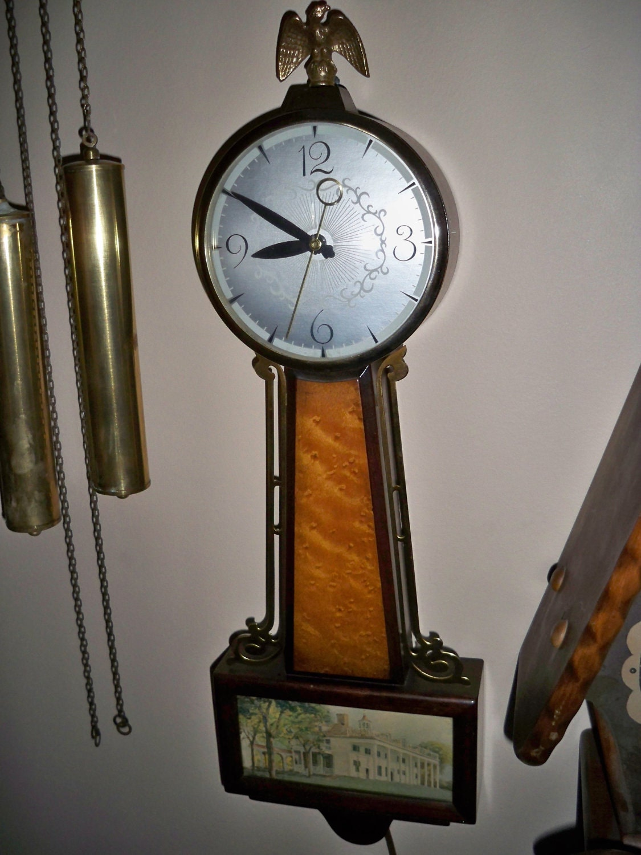 Vintage Sessions Clock Co Banjo Clock