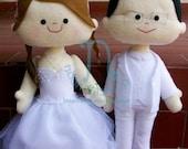 custom  wedding doll