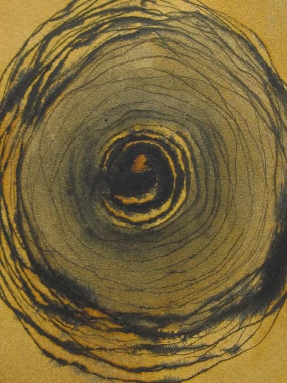 Memory of Trees, original ink drawing