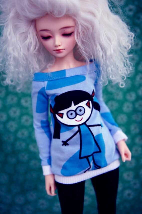 Blue sweater for MiniFee