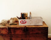 circa 1950 rustic industrial tool caddy