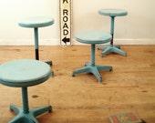 circa 1950 industrial stools last one