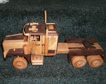 Western Star Wooden Truck Replica Handcrafted