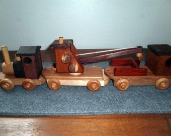 Wooden Working Train
