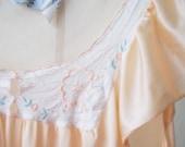 Peach Nightgown - S - M