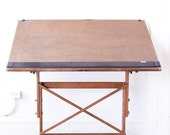 RARE 30's mayline drafting table