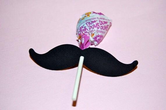 Mustache Lollipop Favors / Mustache Bash Party