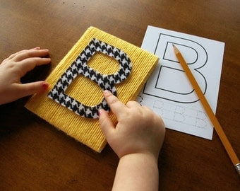 Printable Alphabet & Number Tracing Cards - Uppercase and Lowercase