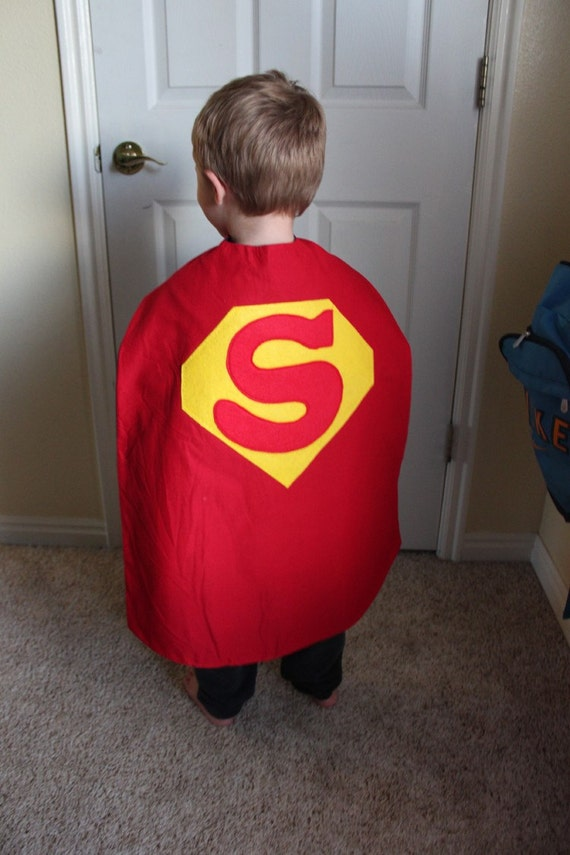 Double Sided Super Hero Cape - Superman - Batman