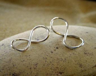 Silver Infinity Pendant Link Connectors