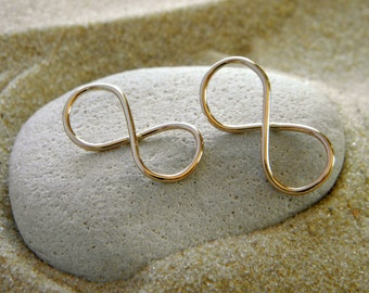 Gold Filled 14 K Infinity Connectors Links | Infinity Pendant|  1 Pair