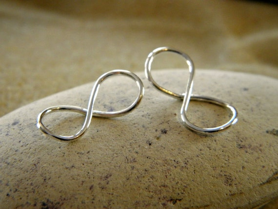 Silver Infinity Pendant Link Connectors