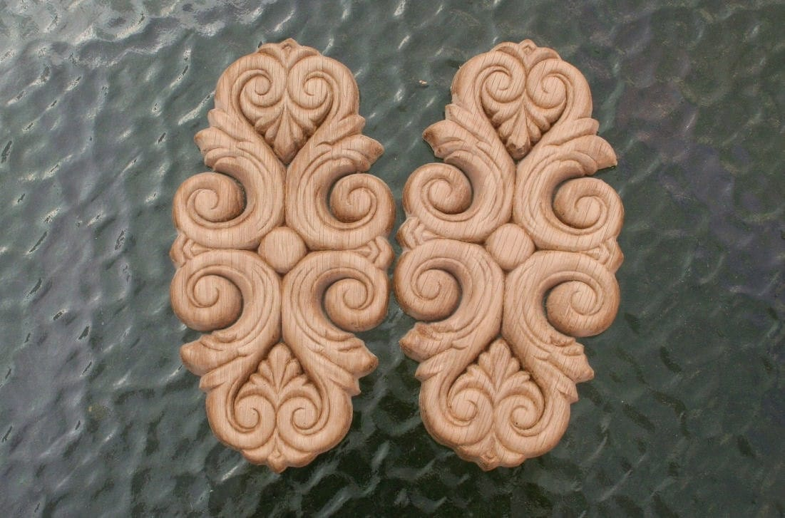 decorative wood ornaments