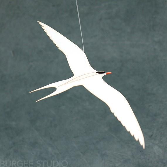 Arctic Tern - Paper Handmade Bird Sculpture