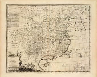 1747 Map of China