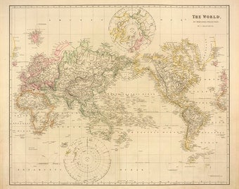 1832 Map of the World