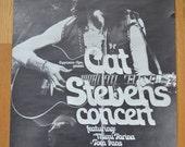1971 Cat Stevens Concert Poster Munchen Germany