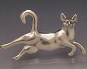Flying Cat Pin