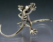 Waltzing Lizards Micro Sculpture