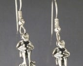 Cannonball Frog Earrings