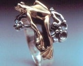 Tree Frog Bi-metal Ring