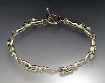 Running Rabbit Link Bracelet