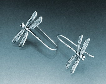 Dragonfly Earrings Medium