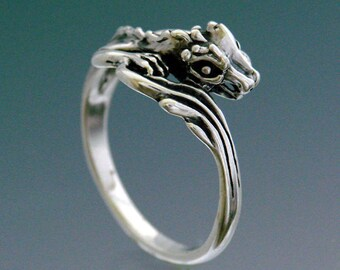 Single Dragon Ring Size 9.25 to 16