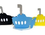 Submarine Cupcake Wrappers - Set of 12