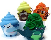 Jungle Cupcake Wrappers - Set of 12