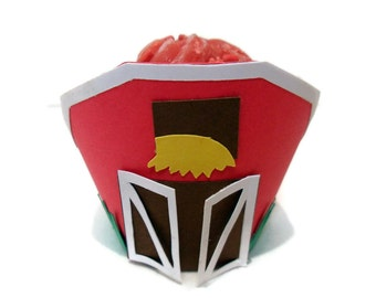 Barn Cupcake wrappers - set of 12