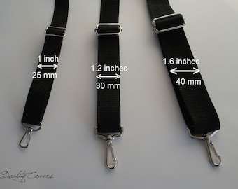 Add a messenger STRAP, detachable and ajustable - for a MacBook Pro 15 / 17 inch or for other laptops up 17 inches